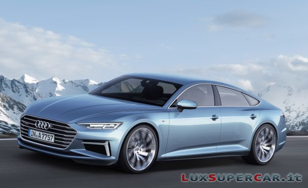 audi a7 frontale