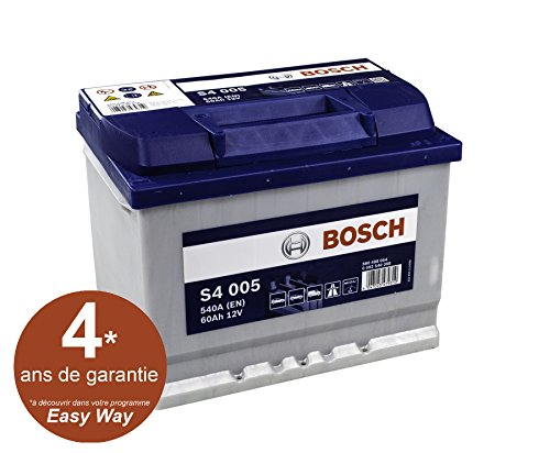 bosch s4 005 batteria silver 12v 540a en 60ah lux super car. Black Bedroom Furniture Sets. Home Design Ideas